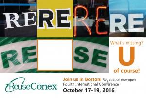 ReuseConex Announcement Postcard front